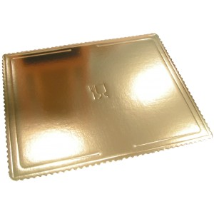 Podkład pod tort złoty (40x60)