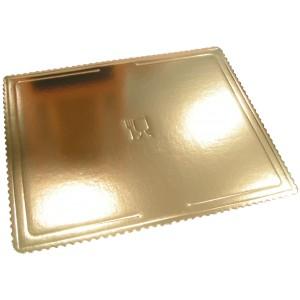 Podkład pod tort złoty (53x43)