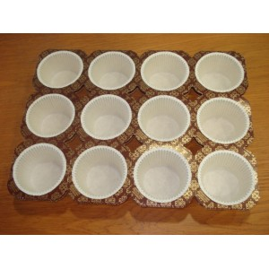 Papilotki papierowe - muffinki
